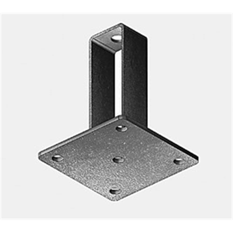 Rail bracket for threaded rods (M12)