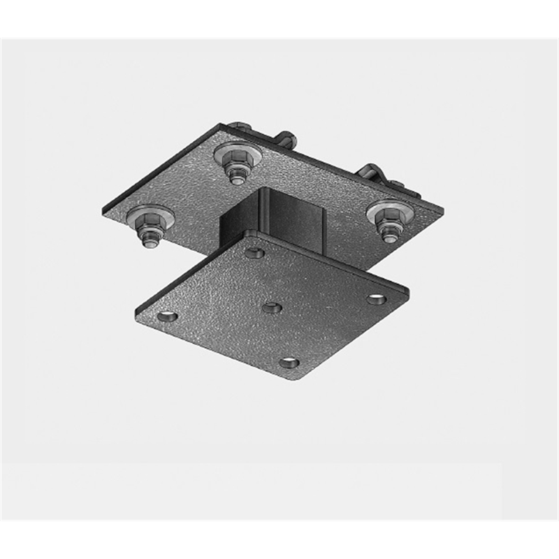 """Adapter bracket for """"I"""" beam to IFF rail system"""