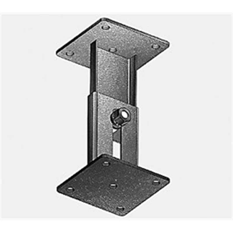 Extension bracket for variable heights