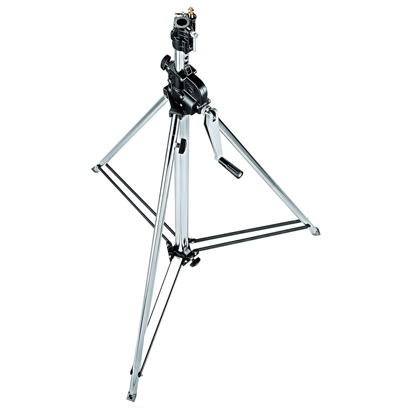 Steel 2-Section Wind Up Stand - 139/247 cm