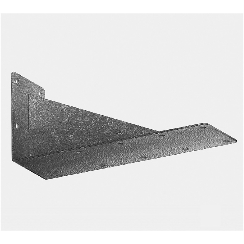 Wall bracket for 2 rails