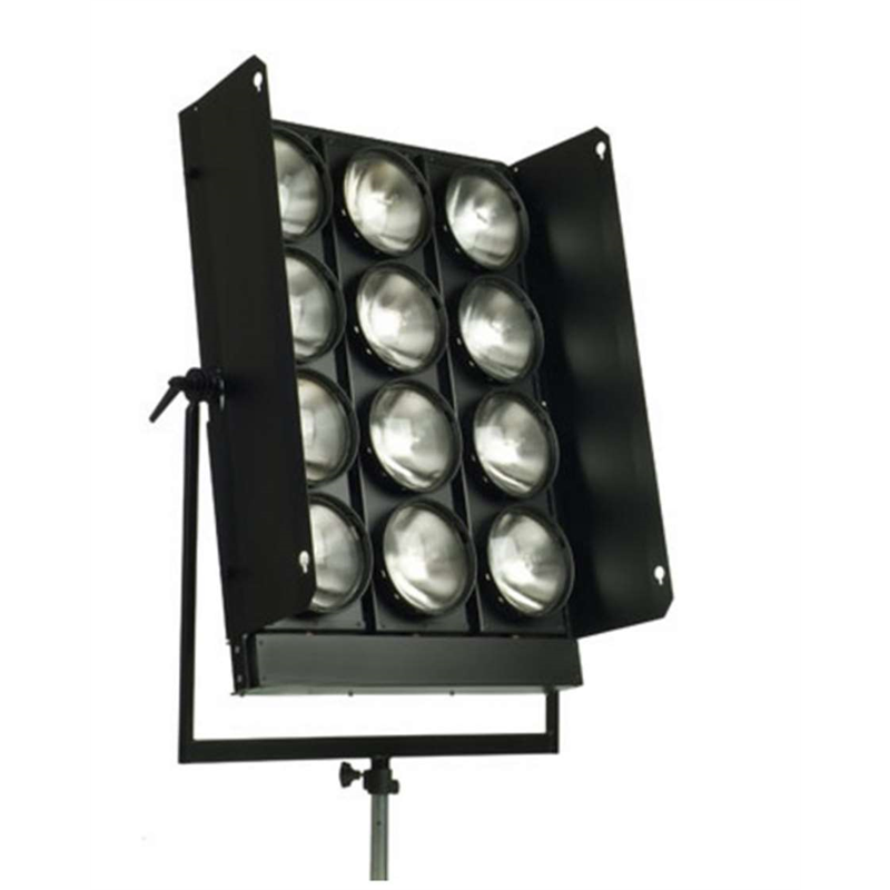 RC 930 - Jumbo for 12 PAR 64 lamps - 1000 W - with barndoor