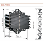 Friction pantograph Top 4C
