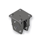 Four-wheel diverter pulley - Designed to change rope direction for between 1 and 4 ropes from horizontal to vertical (with 11 mm inter-axis). Bearing-mounted pulley wheel for smooth, silent operation