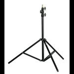 RC 212B - Aluminium stand, 3 risers, 76/280 cm, 16 mm spigot, black, 5 kg load