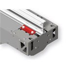 IFF rail clamp - Standard IFF rail clamp for attaching motor winch unit or accessory to IFF rails type 50, 80 or to IPE80 steel beams