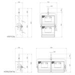 IRIS 2 - 1250W x 2 Cyclorama softlight