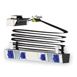Lighting circuit distributor - includes: top terminal box, flat cable for 6 lighting circuits and 1 x Ethernet (or 2 x DMX)