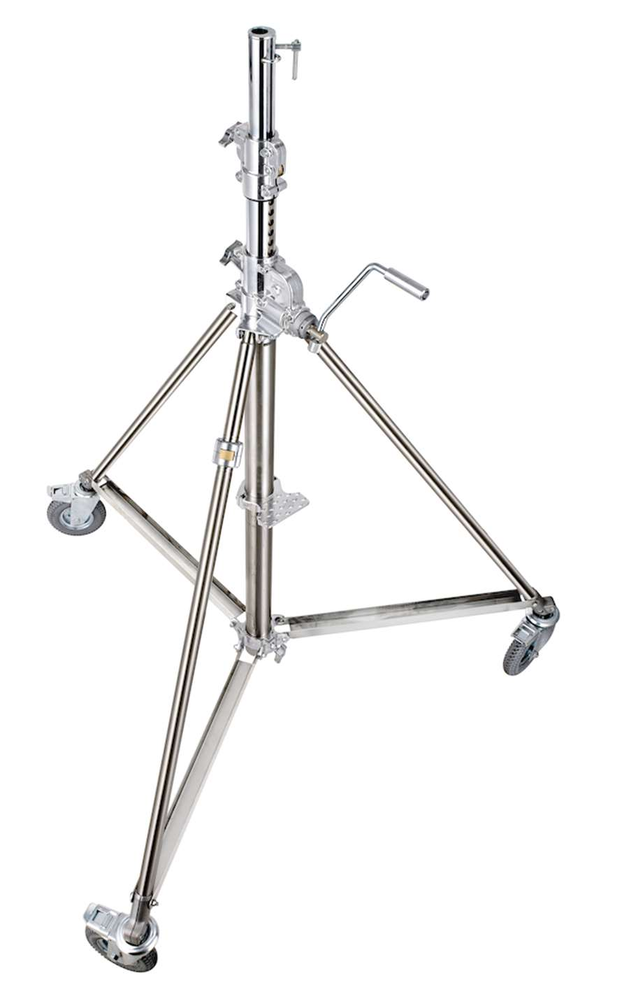 super wind up stainless steel stand - 172  386 cm